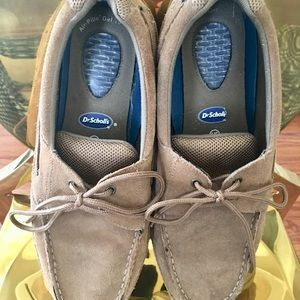 💙💙💙 Dr. Scholl's  Men Suede Boat Loafers